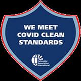 Meet Covid Clean Standards Logo